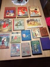 LOT 15 LIVRES ENFANT EN ANGLAIS  - COLLECTION RARE 1915 à 1940