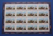 Canada (CN05) 1989 Wildlife Habitat Conservation Stamp Sheet (MNH)