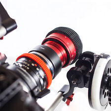 Isco Micro 2X RED DSLR Anamorphic Lens READY TO SHOOT w/clamp & front filter