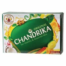 Chandrika Sapone Ayurvedico Naturale Agli Oli Essenziali, ORIGINALE Made India