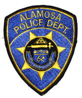ALAMOSA COLORADO CO Sheriff Police Patch STATE SEAL EYE OF GOD USED ~