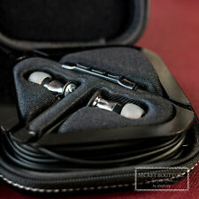 MOMENTUM In Ear M2 IEG Headphones For iOS  (New Whitout Packaging) - Black Chome