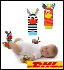 Babysocken Rassel Set Baby Sensory Toys Fußsocken  Rasseln