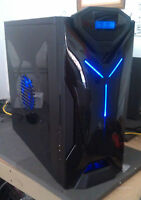 Intel i5-6500 GTX 1060 CUSTOM Gamer ready PC Computer DDR4 32GB RAM Win10 SSD