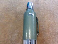VINTAGE Aladdin Stanley Vacuum Bottle Green Thermos #A945DH Half Gallon w/Handle