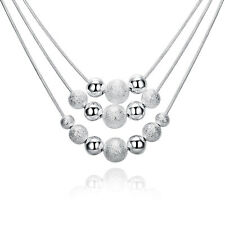 New product Fashion women Jewelry Wholesale 925 silver Pendant Necklace