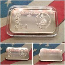 """1 oz .999 Fine Silver Bar/Round """"Thanksgiving"""""""