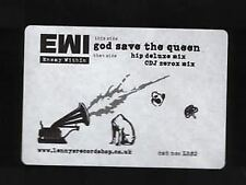 "God Save The Queen 12"" PROMO (UK 2002) : Enemy Within"