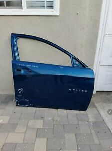 2016 2017 2018 2019 2020 CHEVY MALIBU FRONT RIGHT SIDE PASSENGER DOOR SHELL...