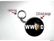 Spock What Would Spock Do Star Trek Vulcan Key Chain