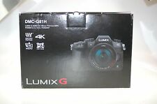 Panasonic Lumix DMC-G81 Schwarz -Digitalkamera (nur Gehäuse) OVP