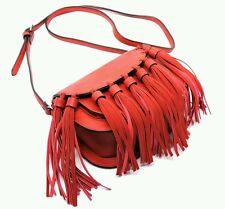 Tassel Fringe Saddle Bag