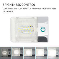 24LED Interior Ceiling Cabin Spot Light Touch Switch For Caravan Boat RV