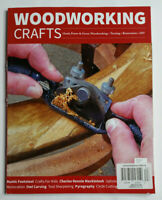 Woodworking Crafts Magazine Issue 63 Restoration DIY Hand Power & Green Woodwork