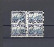 SOUTH AFRICA 1938 SG 58 USED BLOCK Cat £100