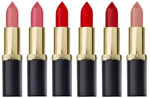 L'OREAL Colour Riche Matte Addiction Lipstick - CHOOSE SHADE - NEW Sealed