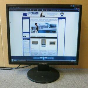 "Sumsung SyncMaster 943N LS19MYAKBB/EDC Black 19"" LCD TFT Flat Screen Monitor VGA"