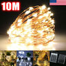 10M 100 LED DC String Fairy Lights Copper Wire Waterproof Xmas Decor w/ Remote