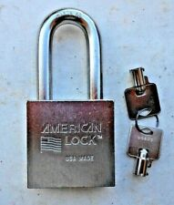 American Lock A7300 Padlock Tubular High Security Keys