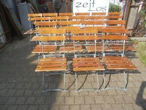 Alter Gartenstuhl Biergartenstuhl Klappstuhl Vintage Altholz Holz Metall
