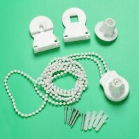 Replacement 25mm Roller Blind Fitting Repair Kit+ Brackets and Chain White #ZH