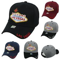 Welcome Las Vegas Baseball Cap Adjustable Hat Fashion Casual Hats Nevada Caps