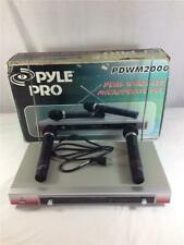 Pyle Pro Dual Wireless Microphone Set PDWM2000