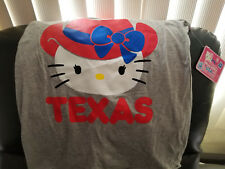 Hello Kitty Gray and Red Texas Tank Top - Juniors S 3/5 - NWT
