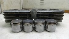 Honda CB500 Four CB 500 HM538B. Engine top end cylinders barrels jug pistons
