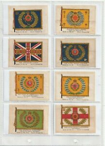 God.Phillips 1918 SILKS  Set 50. Regimental Colours Series 12 (S119)