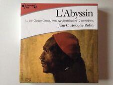 COFFRET 5 CD L'ABYSSIN JEAN CHRISTOPHE RUFIN