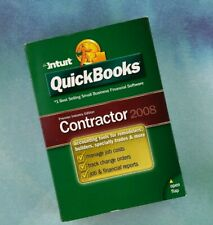 Intuit QuickBooks Premier Industry 2008 Contractor Premier Business NEW Sealed