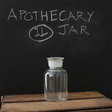 1000ml Apothecary Bottle (Clear, Wide Mouth)