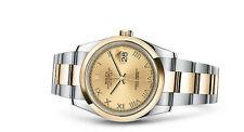 Runde Rolex Armbanduhren für Herren