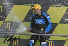 Romano Fenati mano firmato FOTO 12X8 VR46 TEAM KTM MOTO3 2015 15.