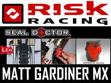 RISK RACING MOTOCROSS MX ENDURO BIKE FORK SEAL DOCTOR atv quad bike OIL LEAK