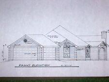 Custom Home Plan 1708 A/C Sq. Ft. 1 Story 3/2/3 Designed For Corner Lot 2563 Tt