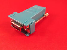 Cisco RJ45 to DB9 Female Adapter, Console, PC Serial, Blue.