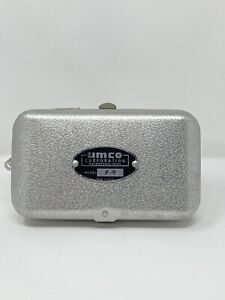 UMCO Corp Model P-9 Fly Fishing Metal Aluminum Tackle Box 2 Sided Excellent Cond