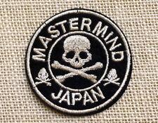 Patch écusson Mastermind Japan tête de mort thermocollant