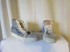 Sneakers Mixed Vans Men 7,5 or Women 9 Suede and Canvas Woven