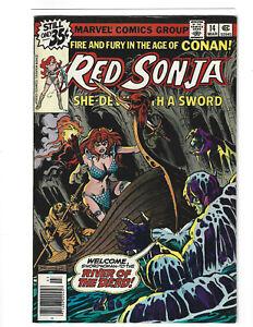 Red Sonja #14 Marvel Comics 1979 FN/VF