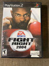 Fight Night 2004 (PlayStation 2) Ps2, Complete with Manual, Tested And Working
