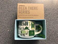 NIB Starbucks Been There Series Oregon Ornament 2oz Coffee Mug YAH You Are Here