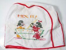 Original vintage 1930's Scottie Dog kitchen Mixer dust cover
