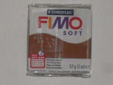 Pain de pâte fimo soft caramel N°7, poids:57g