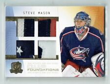 09-10 UD The Cup Foundations  Steve Mason  /10  Quad Patches