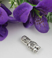5PCS Tibetan silver superman spacer for 8x2mm leather A19421