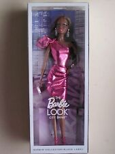 2015 Barbie Black Label The Look City Shine Pink Dress NRFB