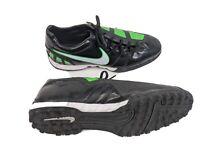 Nike Total90 Shoot 3 Mens 12 EUR 46 Black Green Turf Soccer Shoes (386471-013)